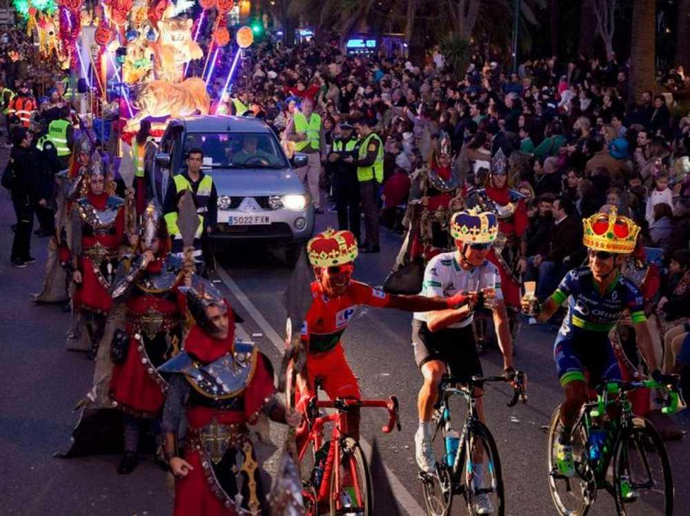 Carmena Los reyes de la cabalgata iran en bici y con mallas para fomentar los hábitos de vida saludable