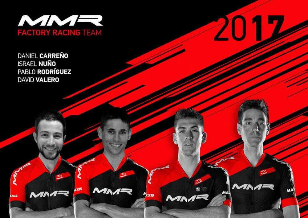 David Valero y Pablo Rodríguez serán los pilares del MMR Factory Racing Team 2017