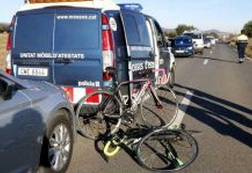 Detenido el conductor que se dio a la fuga después de matar a una ciclista y dejar gravemente herida a otra