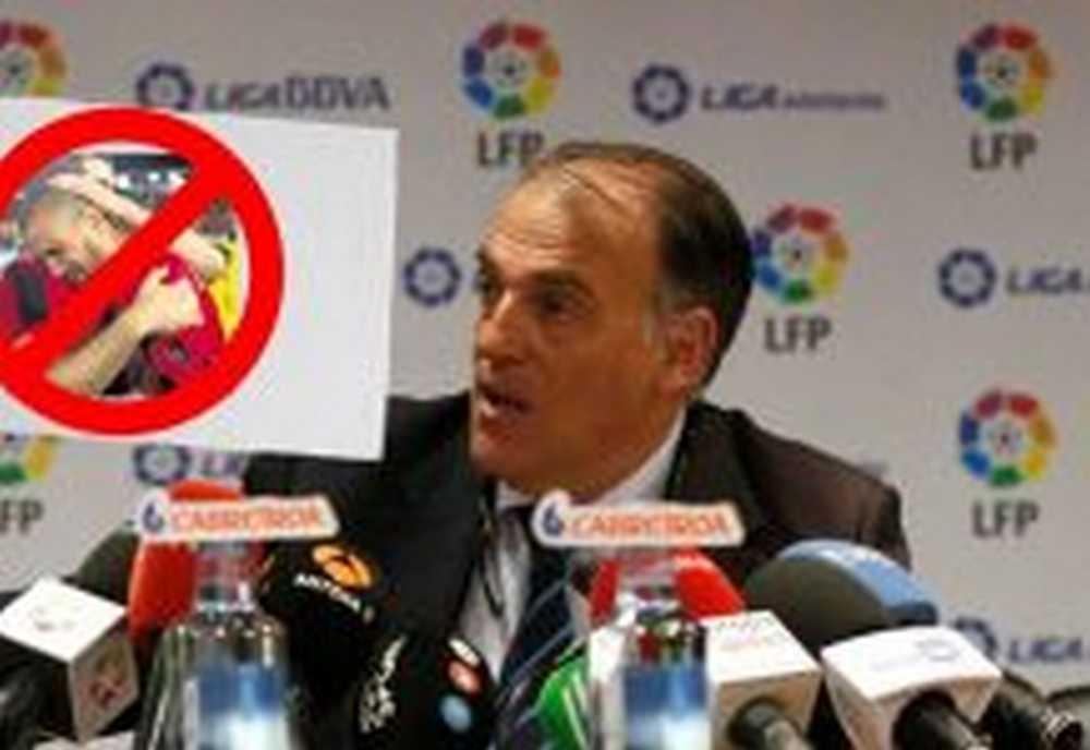 """La Liga de Futbol Profesional lanza un comunicado al sector ciclista """"los futbolistas no somos unos blandengues"""""""