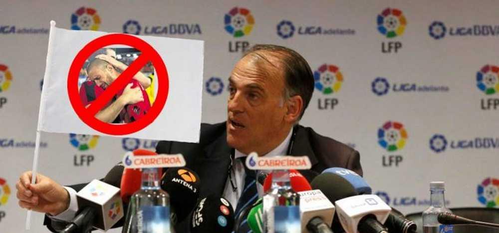 La Liga de Futbol Profesional lanza un comunicado al sector ciclista