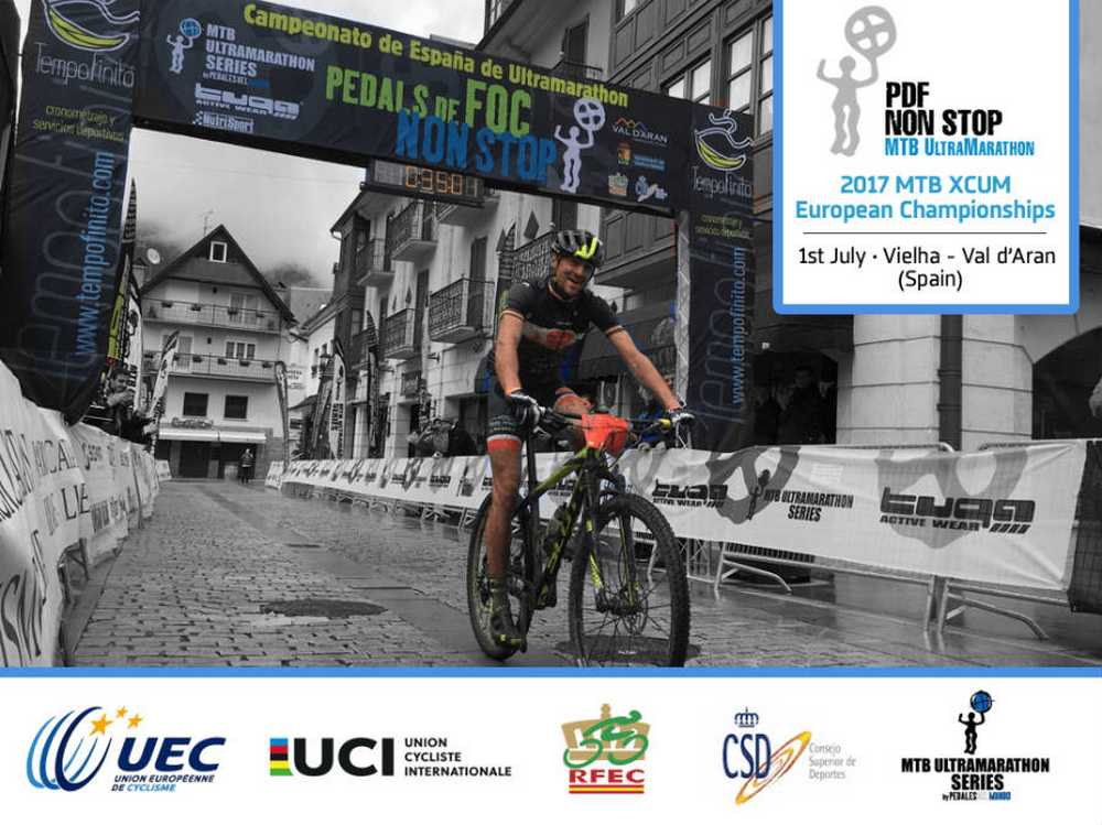 La Pedals de Foc Non Stop albergará los Campeonatos de Europa MTB Ultramarathonen 2017