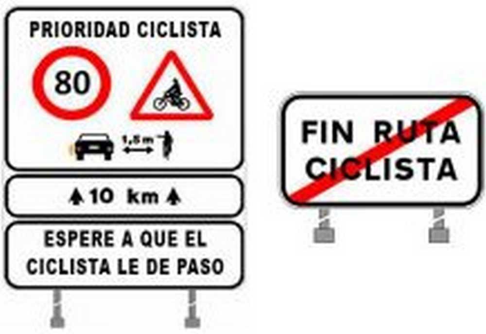 NUEVA LEY DGT Los coches deberan esperar a que el ciclista les de permiso para adelantar