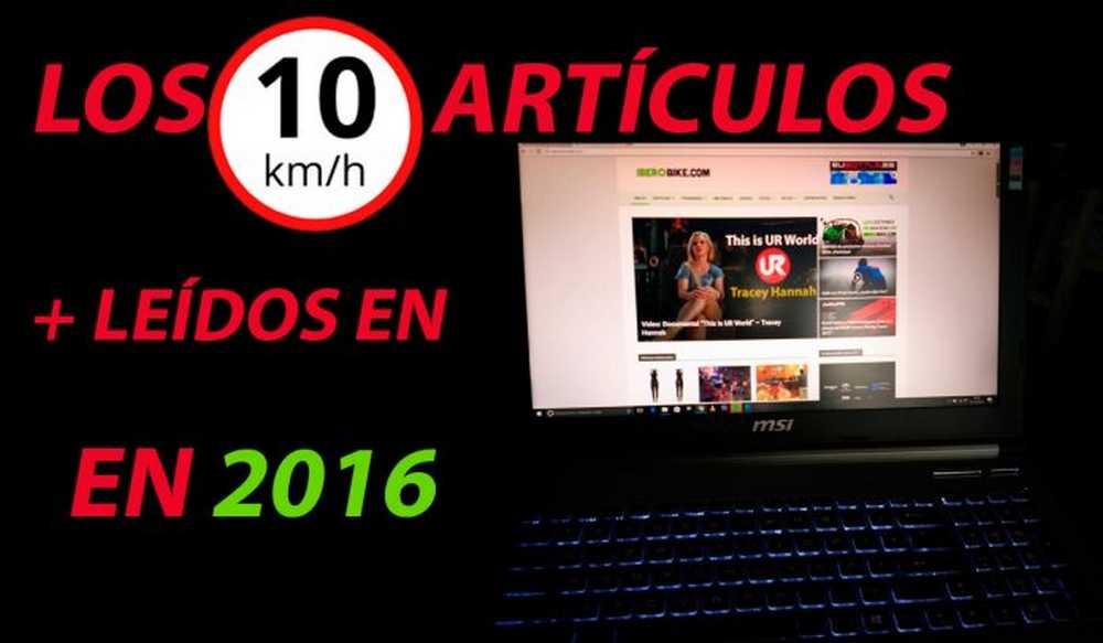 articulos mas leidos en iberobike en 2016