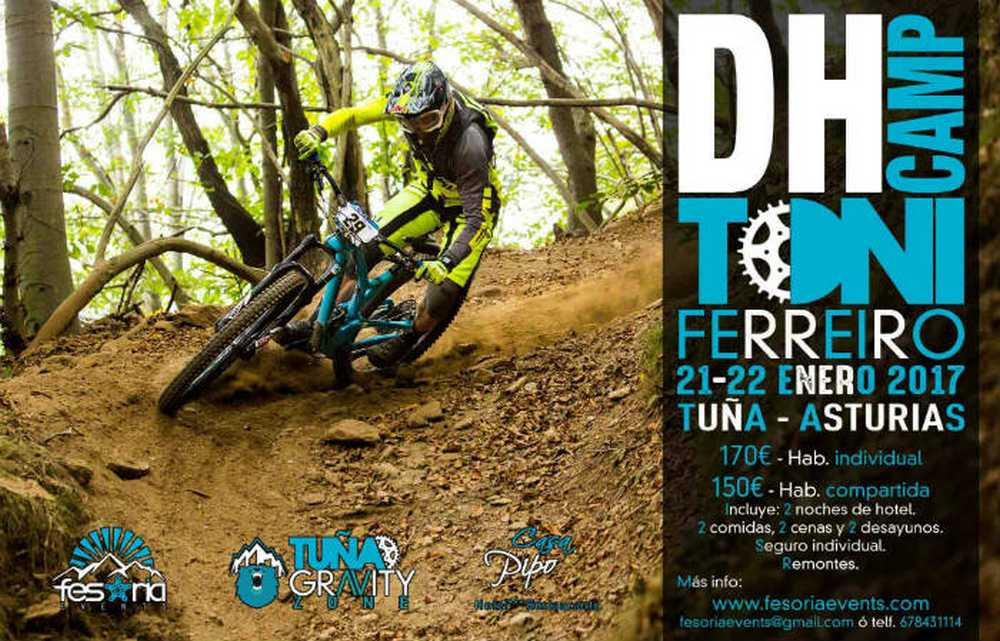 Cartel DH Camp tuña 2017