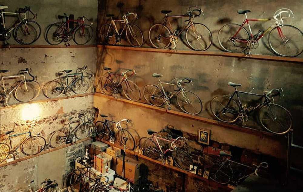 Un Alemán vende en eBay una colección de 60 bicis clásicas de carretera por 35.000 dolares