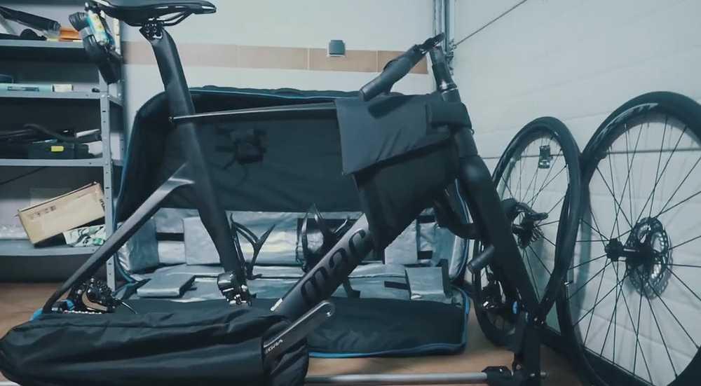 bolsa de viaje bicicleta PRO