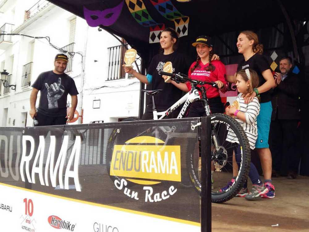 Podio Endurama Sun Race 2017 Miriam Alcántara
