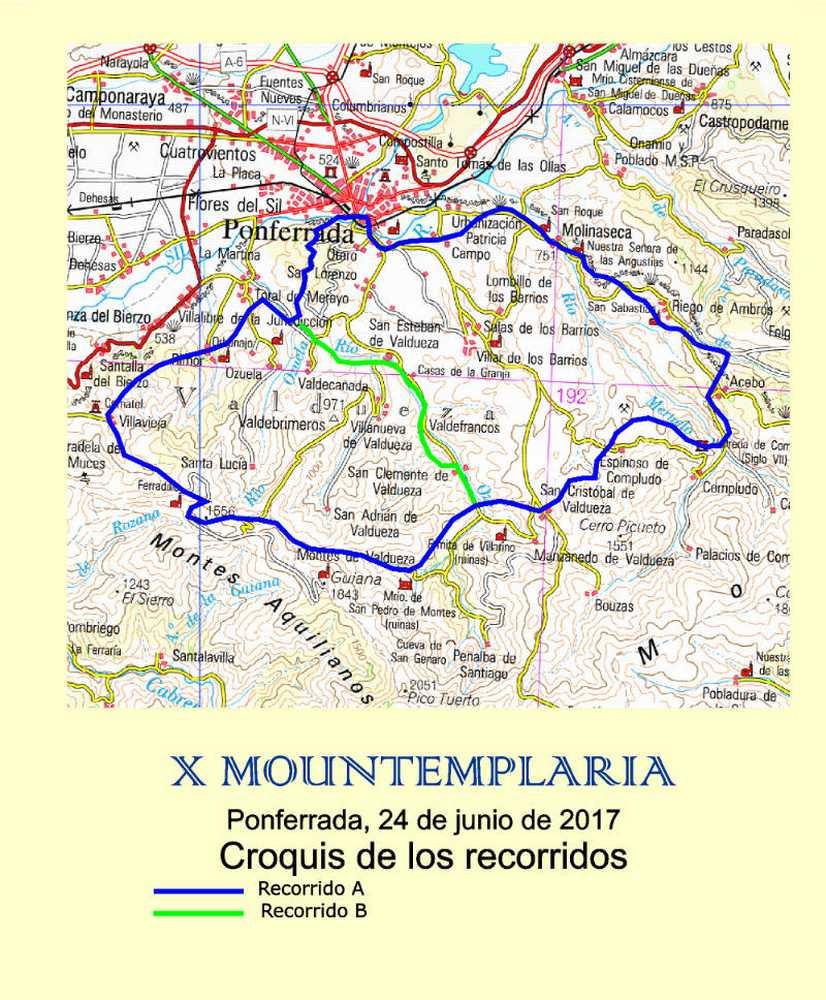 Recorrido Mountemplaria 2017