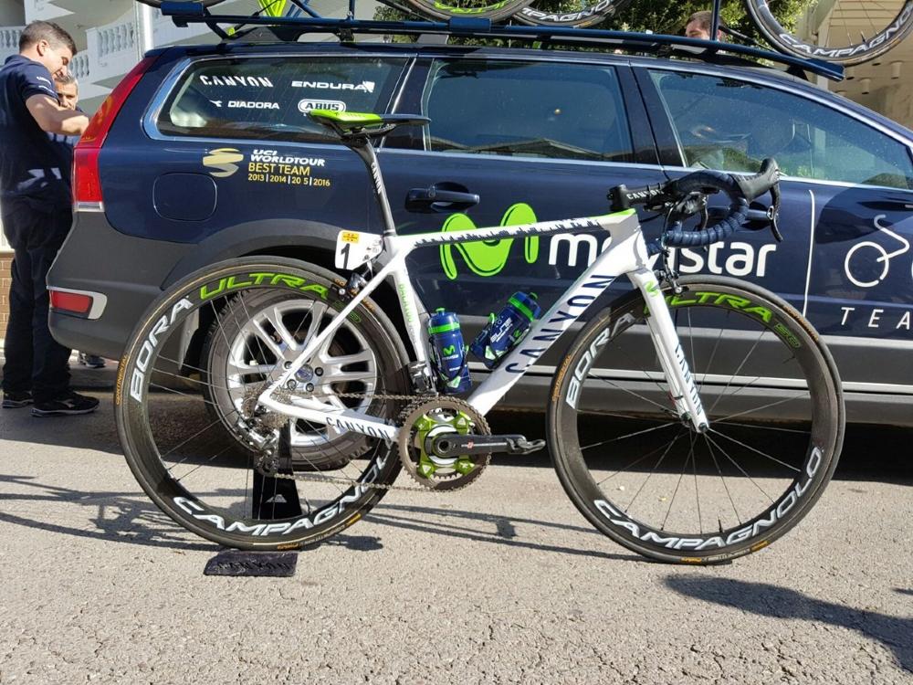 bicicleta homenaje 100 victorias alejandro valverde