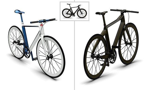 la bicicleta de buggati