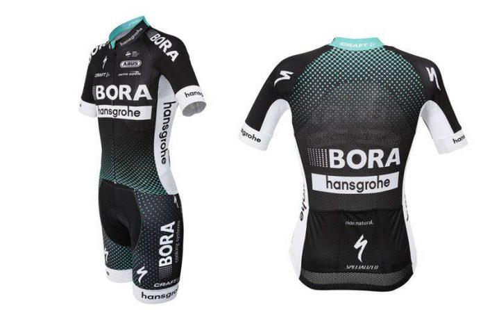 equipación del Bora-Hansgrohe Team 2017