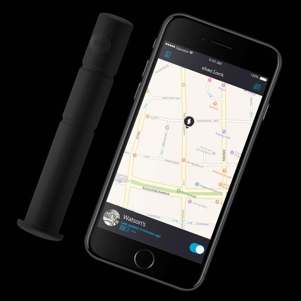 SISTEMA SHERLOCK PARA BICICLETAS ROBADAS GPS