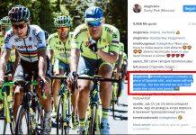 oleg tinkov dice que Alberto Contador es pedazo de mierda española y nunca va a ganar nada