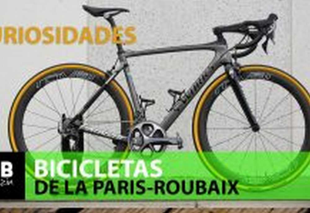 LAS BICICLETAS DE LA PARIS-ROUBAIX