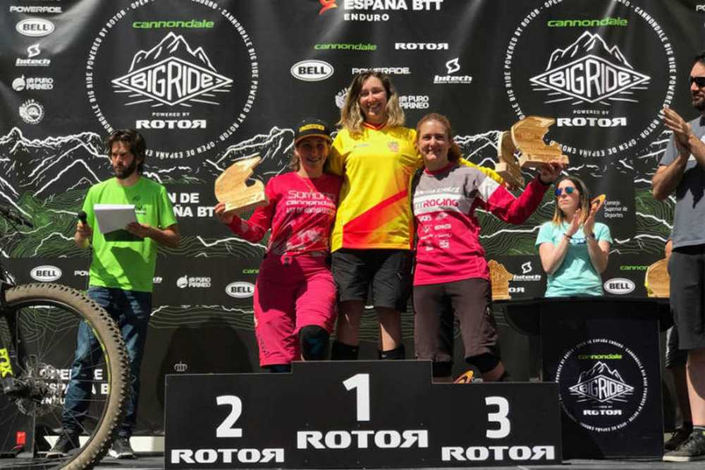 Podium Femenino Big Ride Ojen 2017
