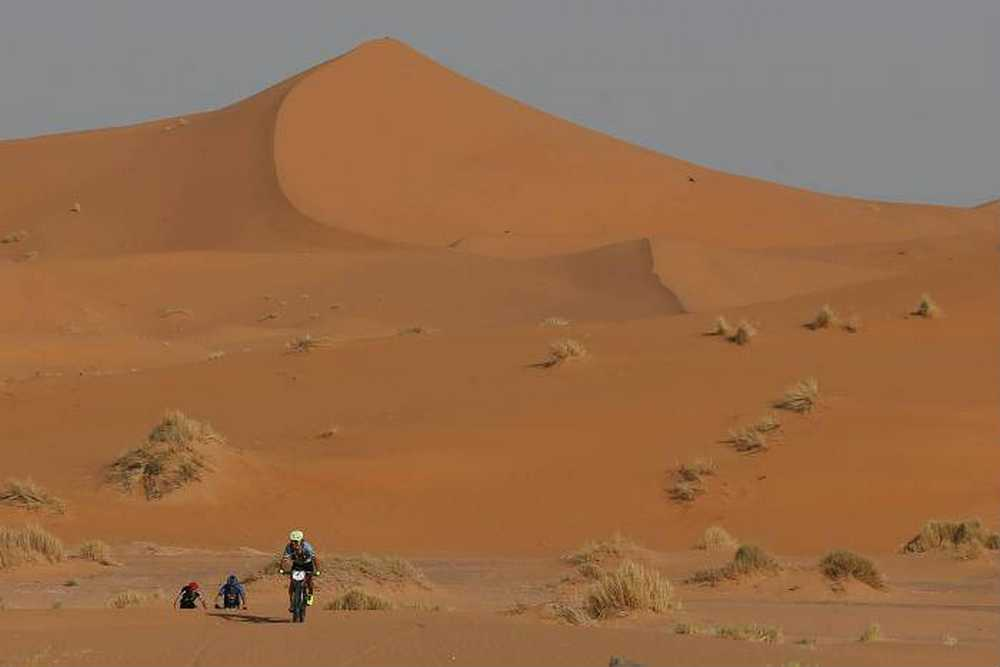 Dunas tercera etapa Titan Desert 2017