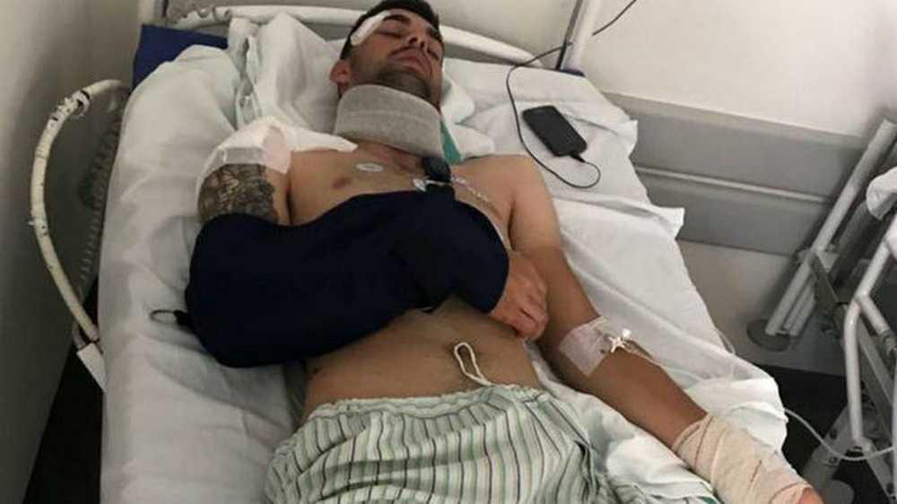 Jesús Alberto Ruiz (Bicicletas Rodríguez Extremadura) atropellado por un camión que se da a la fuga