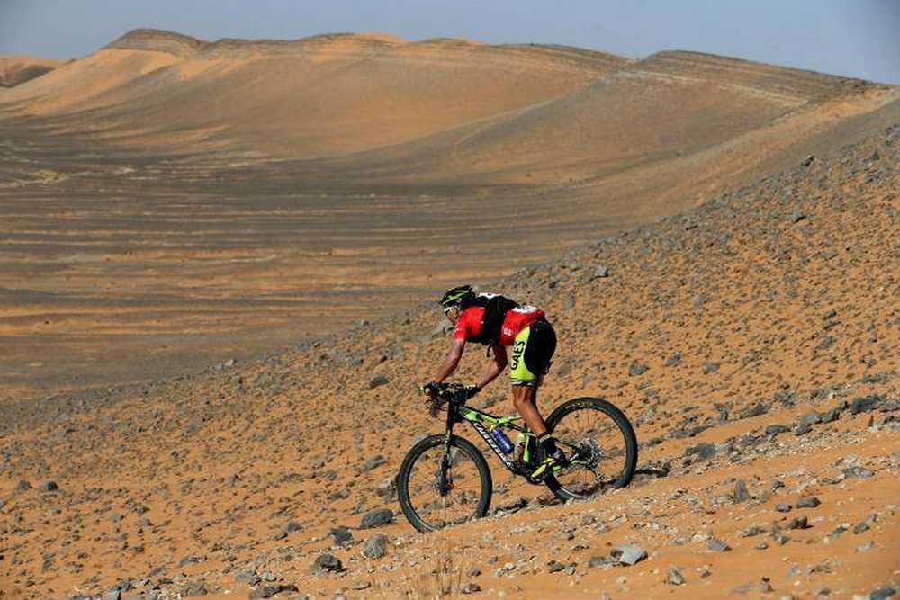 José Luis Gómez Miranda tercera etapa Titan Desert 2017