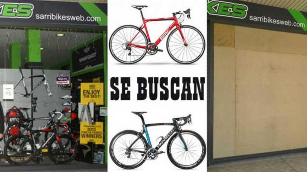 Roban en Sarribikes dos bicicletas valoradas en 8.000 euros