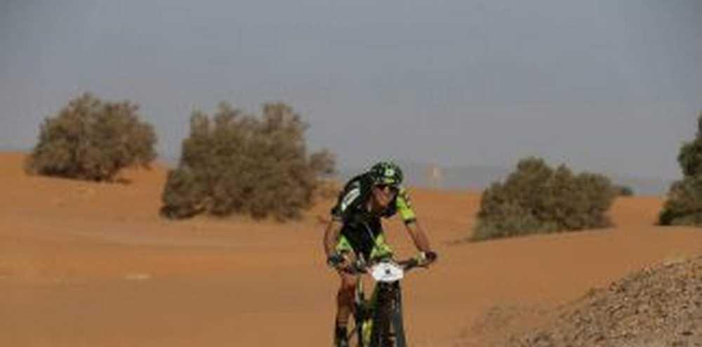 Roberto Bou tercera etapa Titan Desert 2017