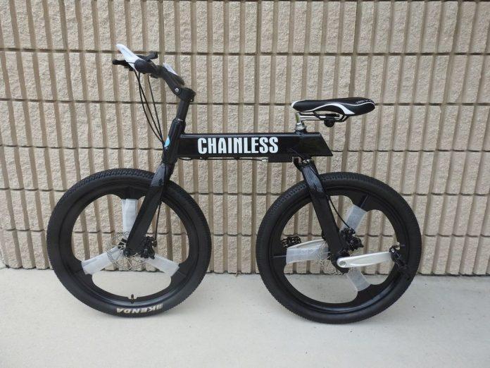 bicicleta sin cadena