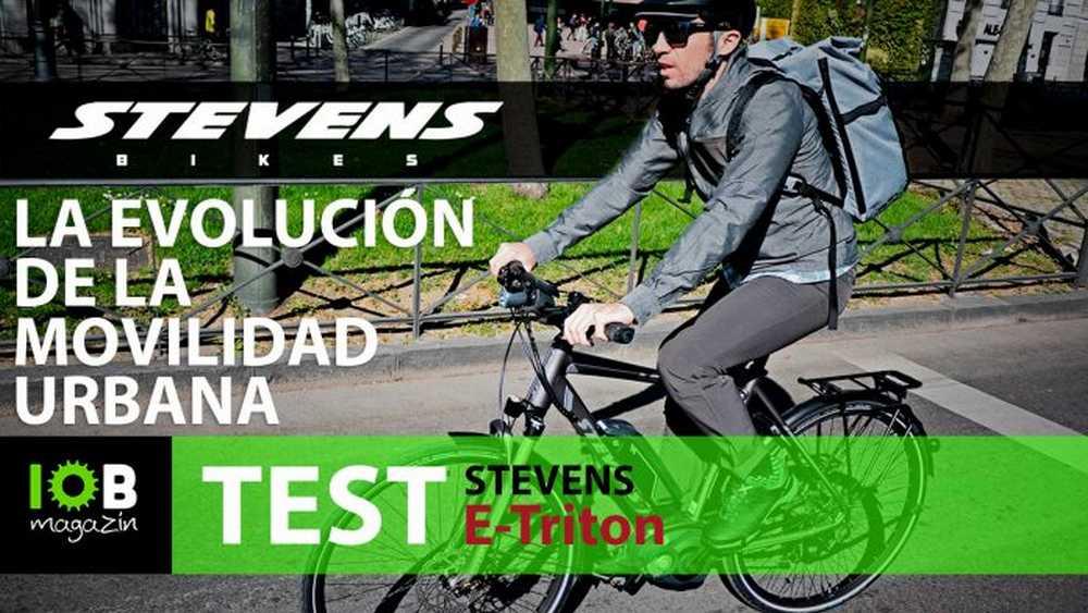 bicicleta urbana stevens e-triton