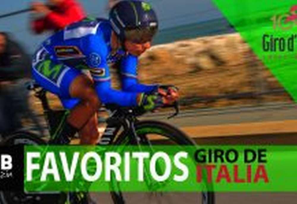 favoritos del giro de Italia 2017