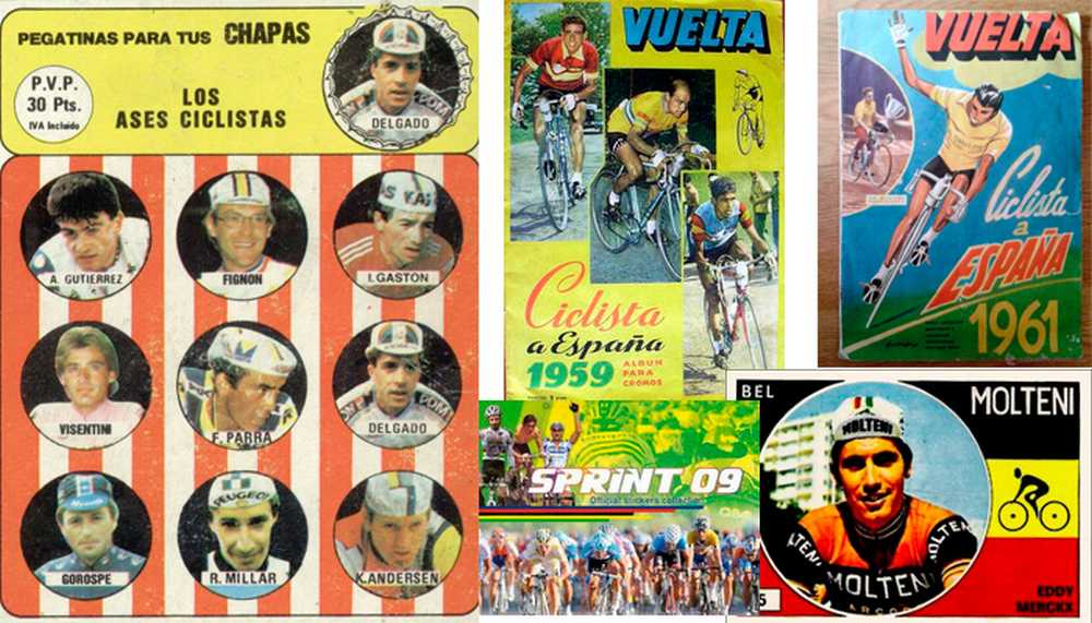 cromos ciclistas