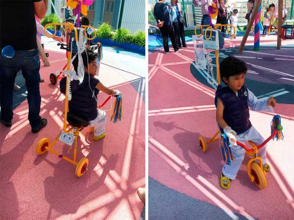 kiciclo, la bicicleta para niños con tratamientos para el cáncer