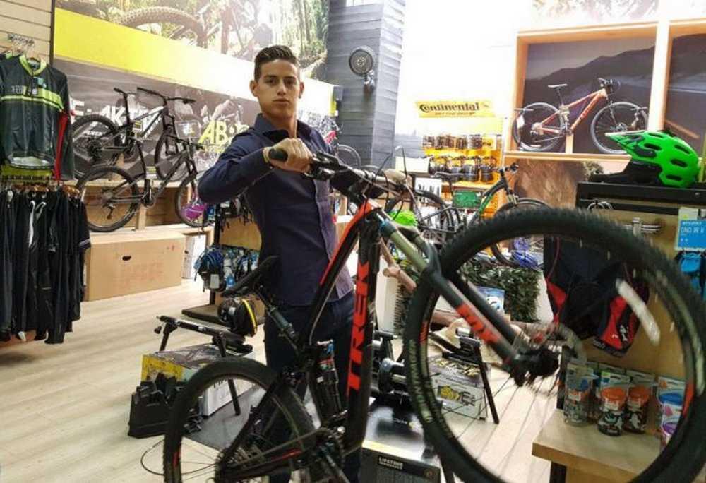 la bicicleta de james rodriguez