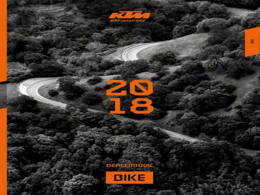 Catálogo KTM Bikes 2018