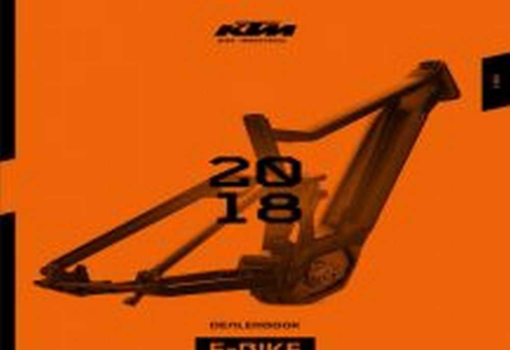 Catálogo KTM e-bikes 2018