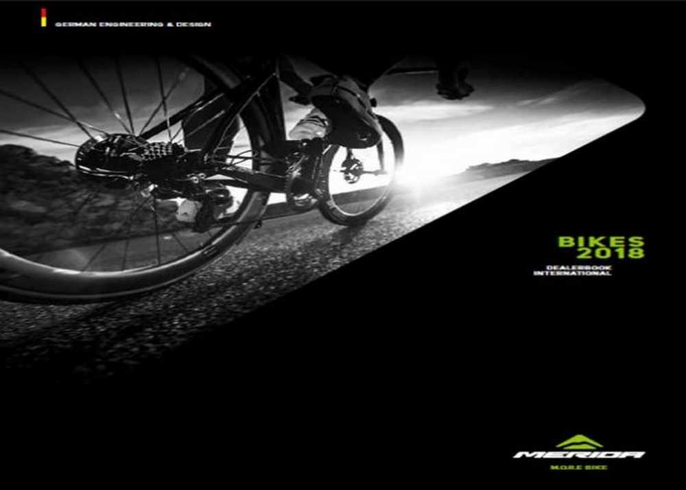Catálogo Merida Bikes 2018