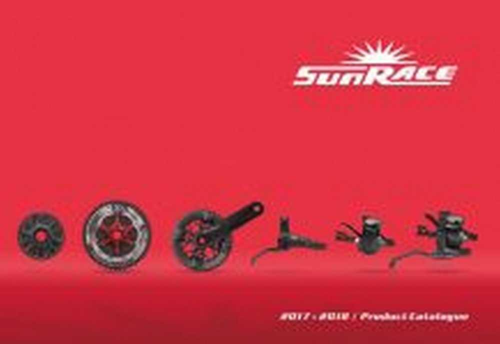 Catálogo SunRace 2018