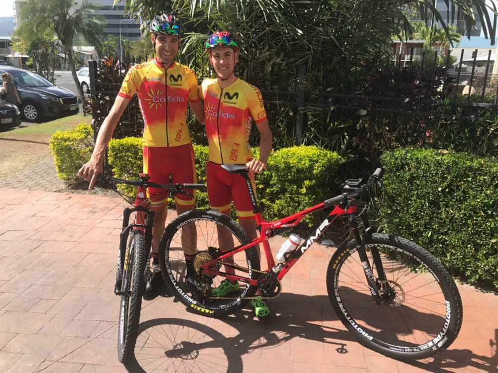 David Valero y Pablo Rodriguez en el Mundial de Cairns 2017
