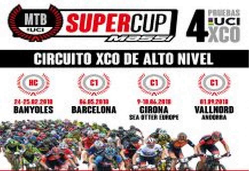 Presentado el circuito MTB SuperCup Massi XCO con 4 pruebas UCI HC y C1
