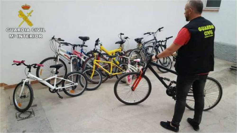 Desarticulada en Alicante una banda que robaba bicis bajo pedido