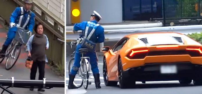 Lamborghini se salta semáforo en rojo