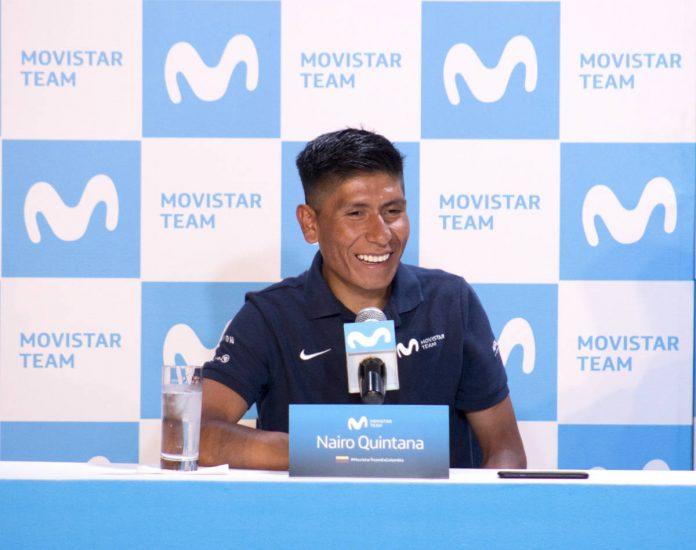 Nairo Quintana rueda de prensa