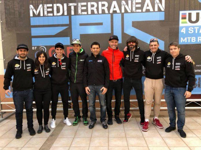 Vídeo El equipo Imparables en la Mediterranean Epic by Gaes 2018
