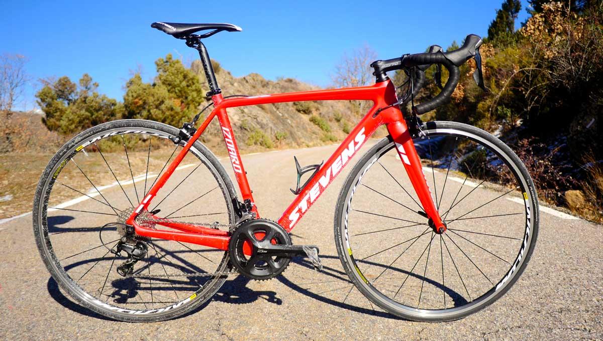 bicicleta stevens izoard
