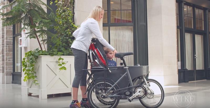 bicicleta carrito para bebes