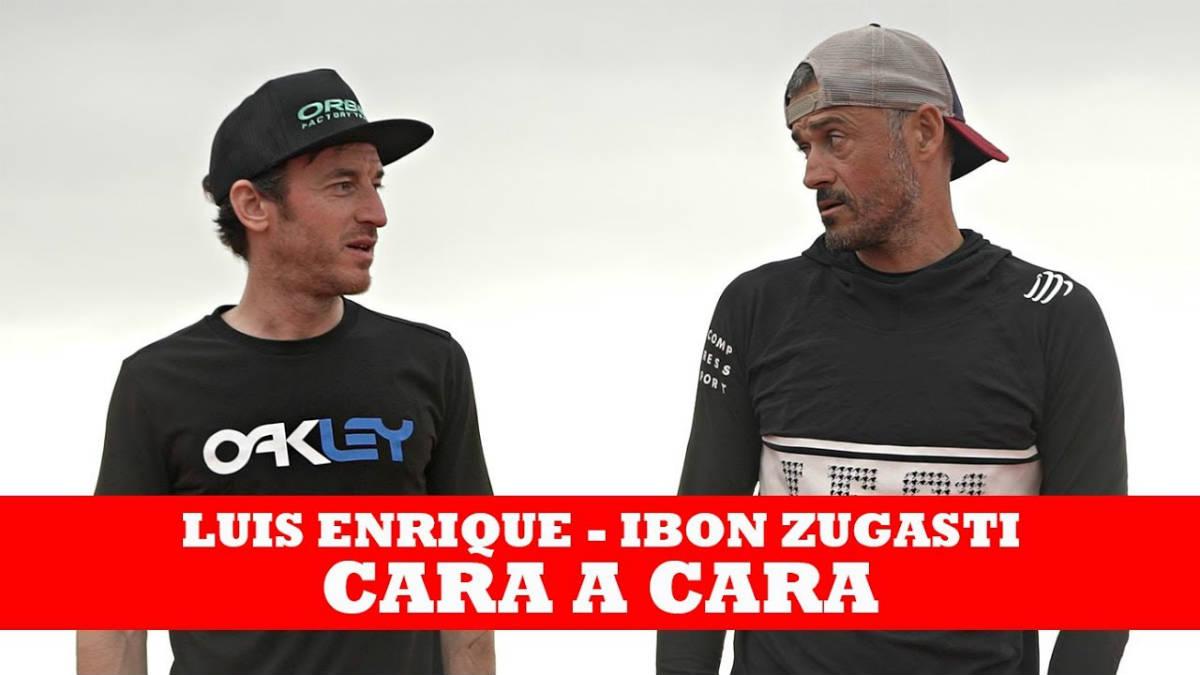 Vídeo Luis Enrique entrevistado por Ibon Zugasti en la Cape Epic 2018