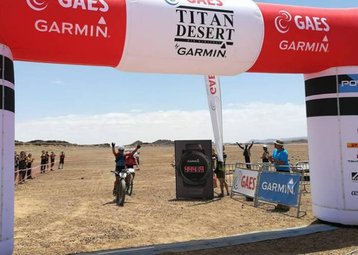 Ignacio Gili gana con una Fatbike la tercera etapa de la Titan Desert 2018