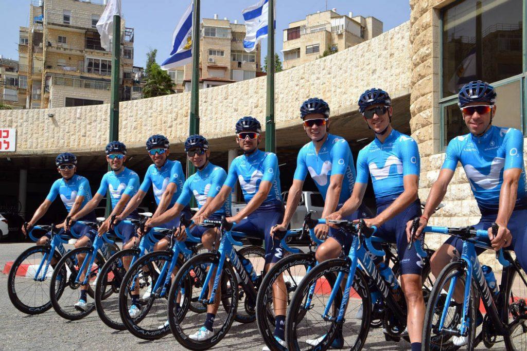 Movistar Team Giro 2018