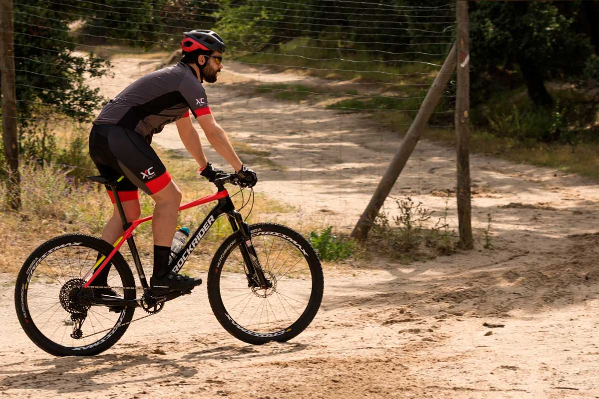 bicicleta mtb decathlon Rockrider XC500