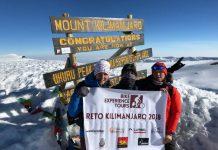Ruth Moll primera mujer europea en hacer cima en el Kilimanjaro en bicicleta