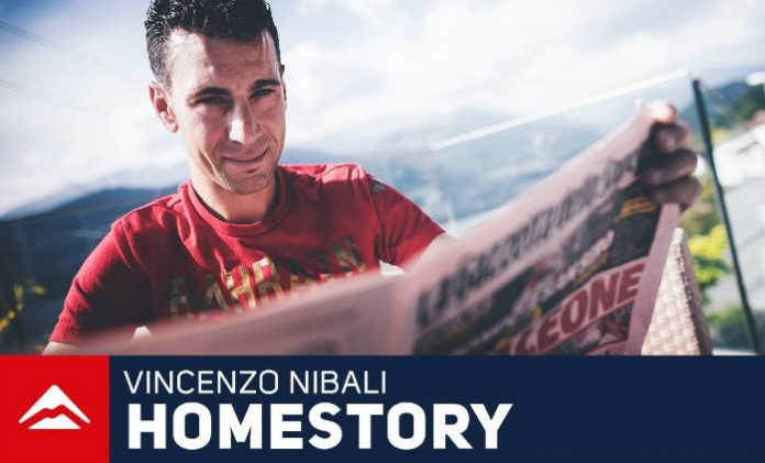 Vídeo Vinzenzo Nibali en su día a día