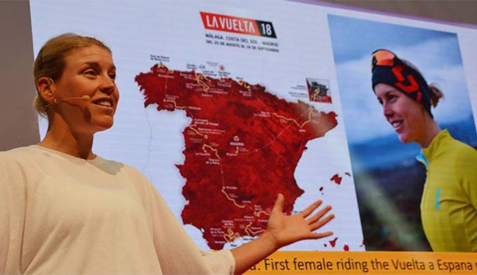 RAD Monika intentará ser la primera mujer en completar la Vuelta a España en paralelo